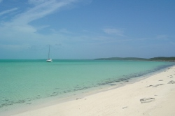 Beach at White Point, Great Guana Cay